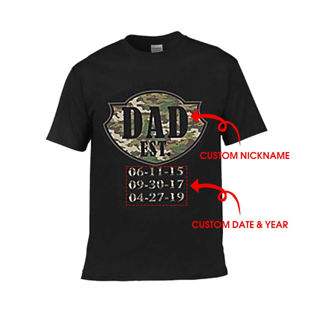 Personalized Nickname Est Year - Unisex Tee