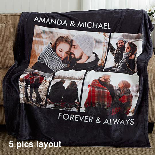 Personalized Fleece Picture Blankets
