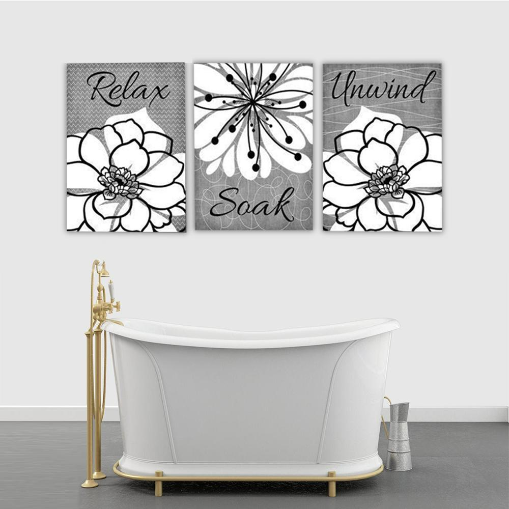 FLOWER Canvas Art Set II