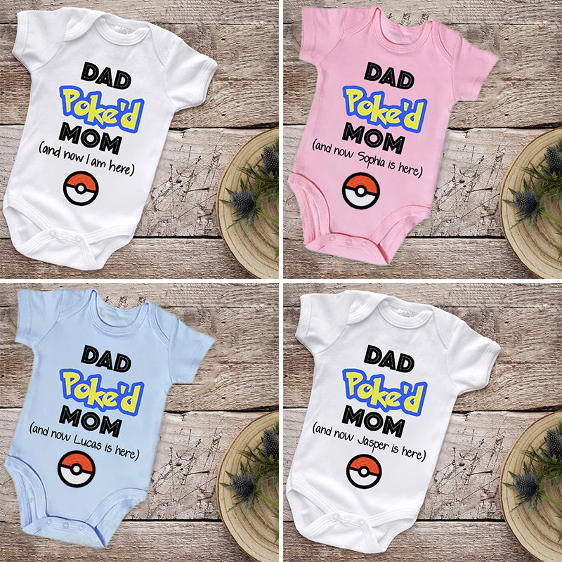 Custom Funny Baby Onesies with Kid's Name