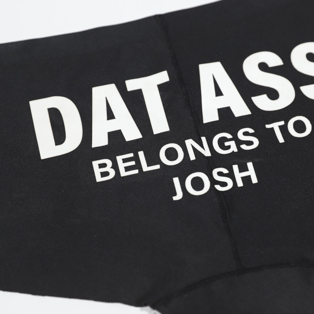 Dat Ass Belongs to Her Customized Ladies Hotshort Underwear