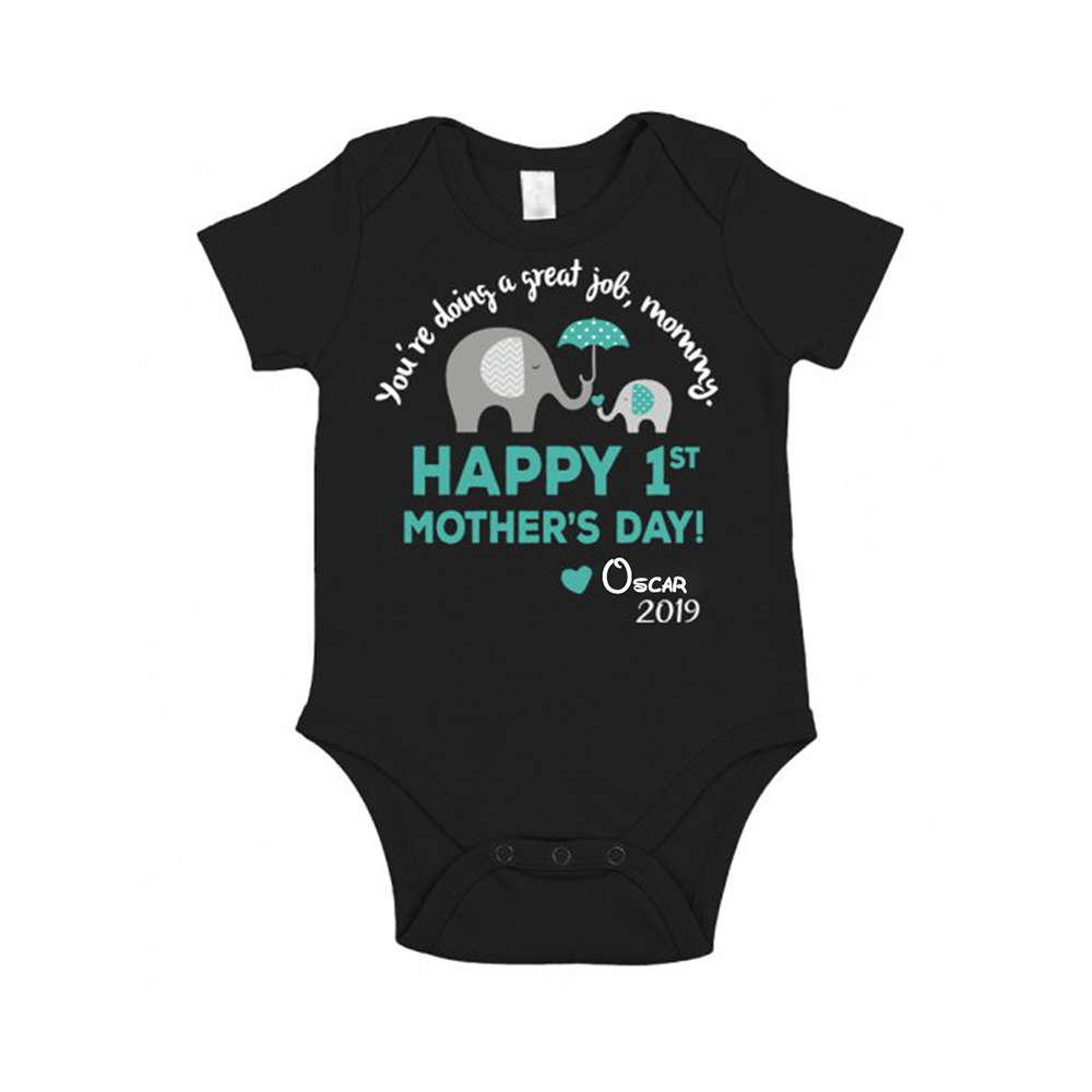 Personalized Baby Onesie / Kid's Tee - You're Doing a Great Job Mommy