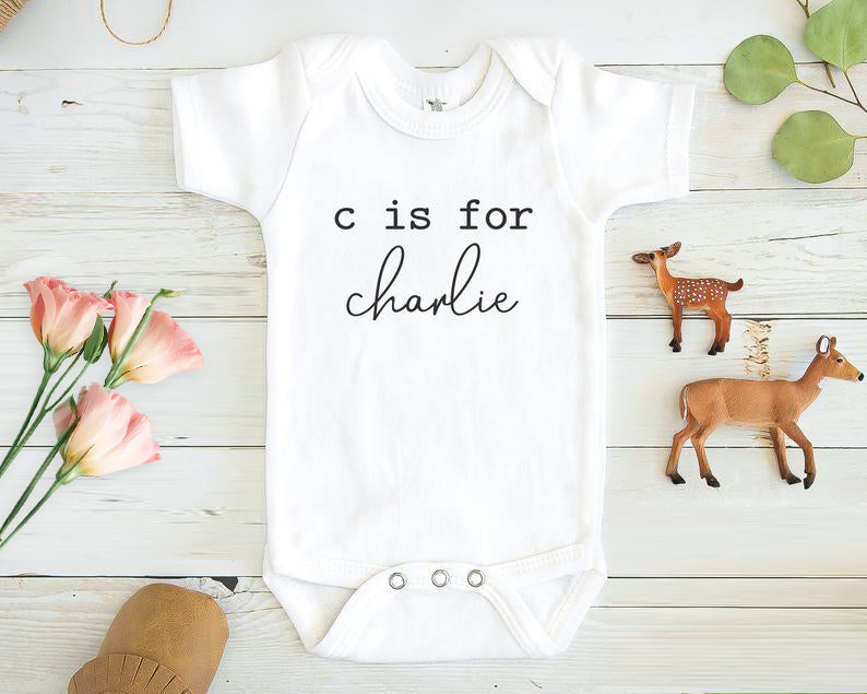 Personalized Baby Boy and Girl Onesie, Cute Custom Onesie Boy and Girl