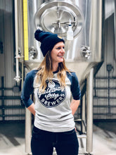 Load image into Gallery viewer, Unisex Brewers Baseball Tee - Grey/Navy