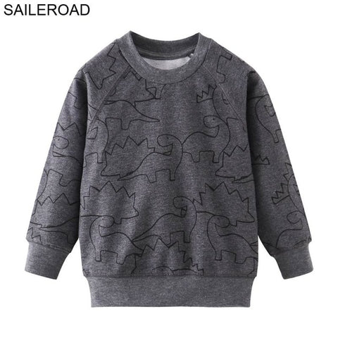 SAILEROAD 2-7years Animal Rabbit Appliques Girls Sweatshirts Child Kid Clothes Autumn Baby Girl's Clothing Boys Long Sleeve Tops
