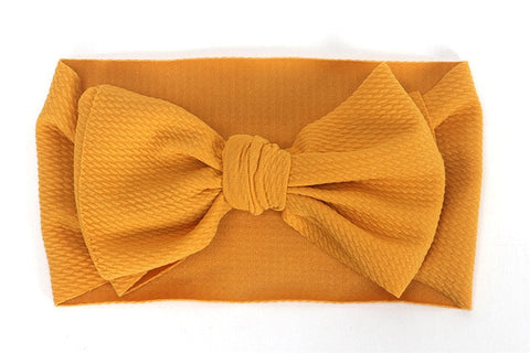 Baby Toddler Kids Girls Bow Hairband Turban Knot  Headband Headwear Newborn Girl Hairband