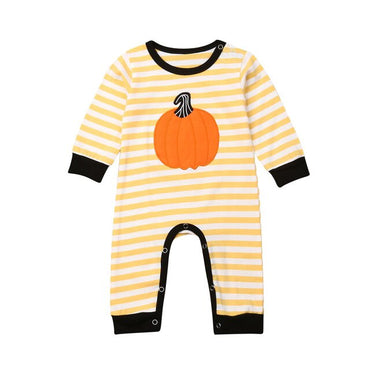 Focusnorm New Fashion Newborn Baby Girl Boy Pumpkin Romper Jumpsuit Tops Pants Leggings Set Clothes