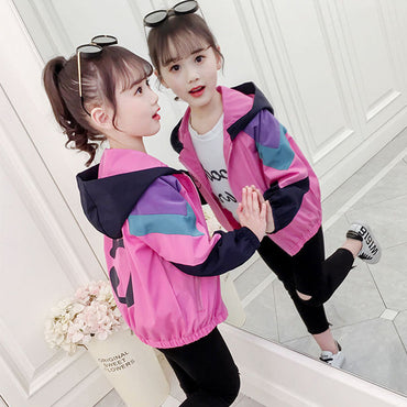 2019 Spring Autumn Winter Baby Girls Jacket Boys Coat Jacket Kids Coats Children Girls Outerwear & Coats Girls Clothes 3-12Y