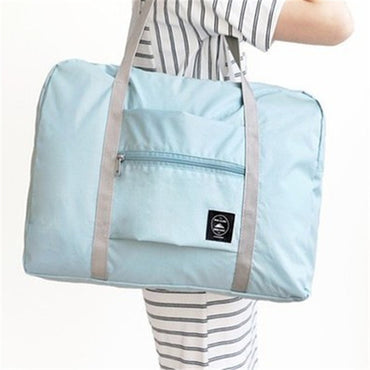 Nylon Solid Mommy Sling Bags Single Shoulder Bag Portable Folding Tote Bags For Baby Luggage Shopping Clothing Shoes Diaper Book
