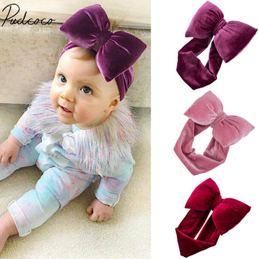 2019 Brand New Kids Girls Baby Toddler Bow Headband Hair Band Accessories Headwear Head Wrap Photo Props Big Bowknot Accessories