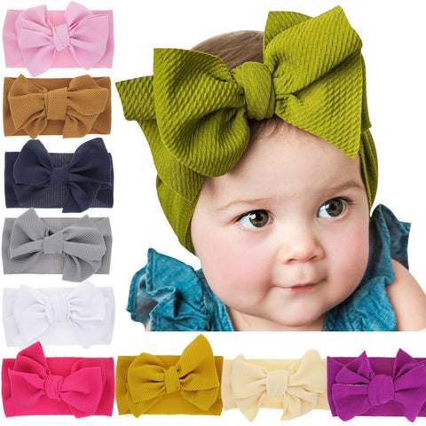 Fashion Baby Girls Headband Kids Toddler Princess Floral Elastic Hair Band Hair Band Accessories Headwear Headwrap
