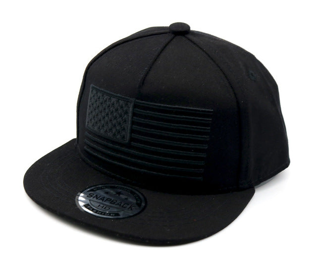 2019 USA Flag Cotton Blank Kids Baseball Cap Black Boys Caps And Hats Snapback Children Baby Black Grey Hat 50-54cm f728