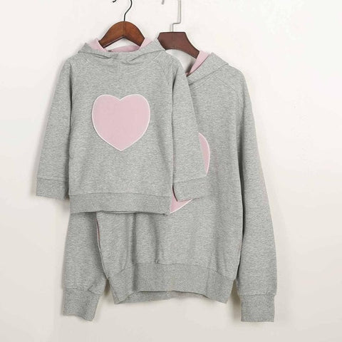 2018 Newest Desgin Mom Son Outfits Mommy and Me Mother Daughter Sweatshirt Clothes Family Matching Sweaters Cotton Spring