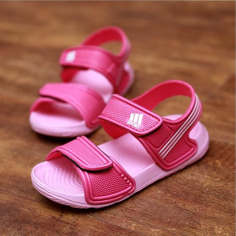 Children sandals  fashion boys and girls non-slip summer beach  sandals wear-resistant and multi-color shoes