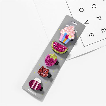 New Baby Hair Clips Glitter Shinny Unicorn Baby Hair Accessories Girl Hair Band Girls Hair Clip Headband Barrettes