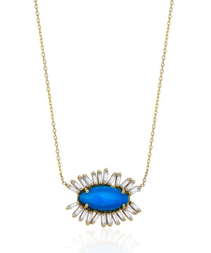 Blue Eye Kolye - Kolye - Marla Jewelry