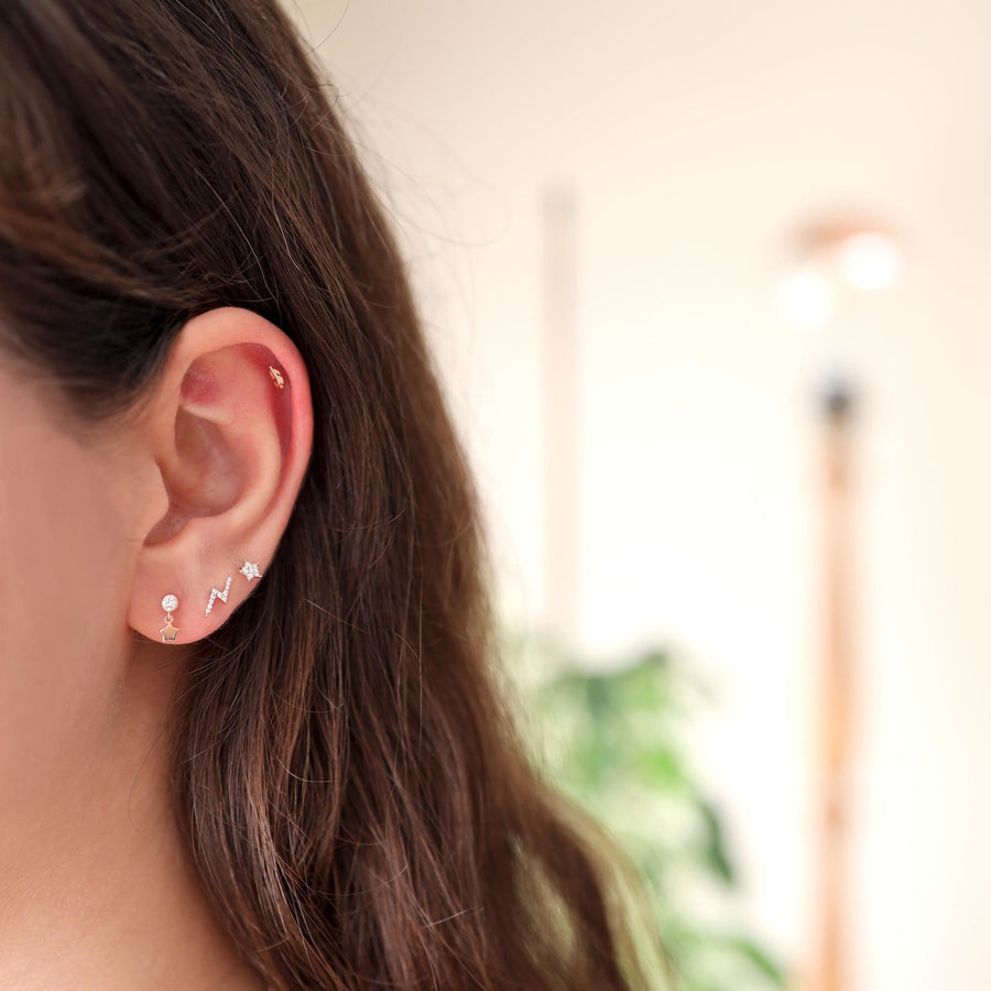 Flowing Star - Piercing - Marla Jewelry