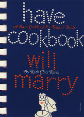have cookbook will marry cover