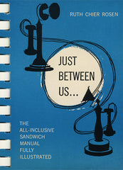 just between us sandwich cookbook cover