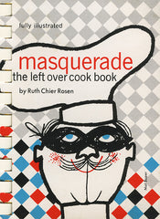 Masquerade left over cookbook cover