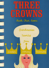 three crowns cookbook denmark norway sweden