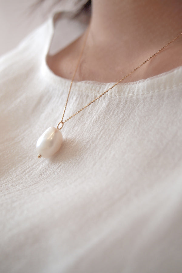 Baroque Pearl Necklace - Jureve