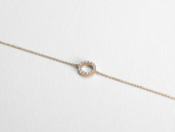 Circle Diamond Bracelet - Jureve