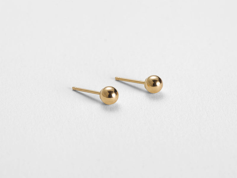 Ball Stud Earrings - Jureve