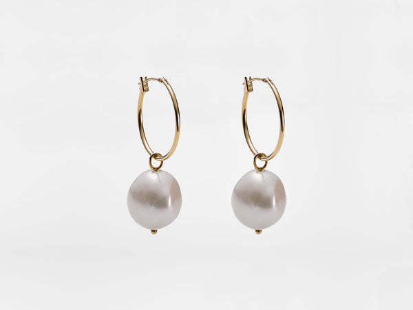 Baroque Pearl Earrings - Jureve