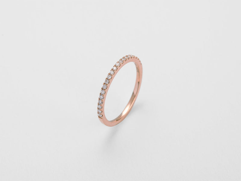 Diamond Band Ring - Jureve