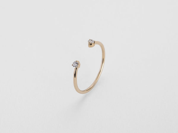 Open Diamond Ring - Jureve