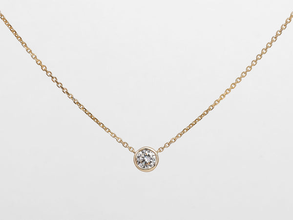 Solitaire Diamond Necklace - Jureve