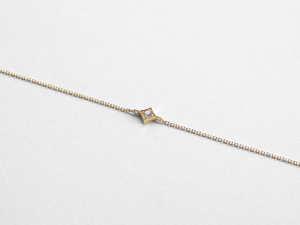 Square Diamond Bracelet - Jureve