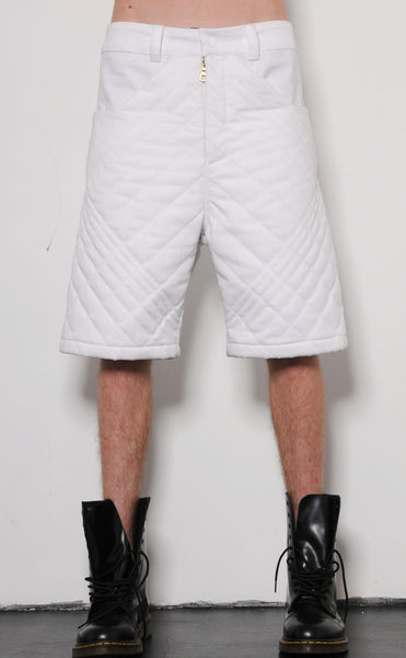 Ombre Quilted Shorts