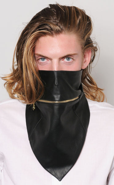Zipper Bandana Mask