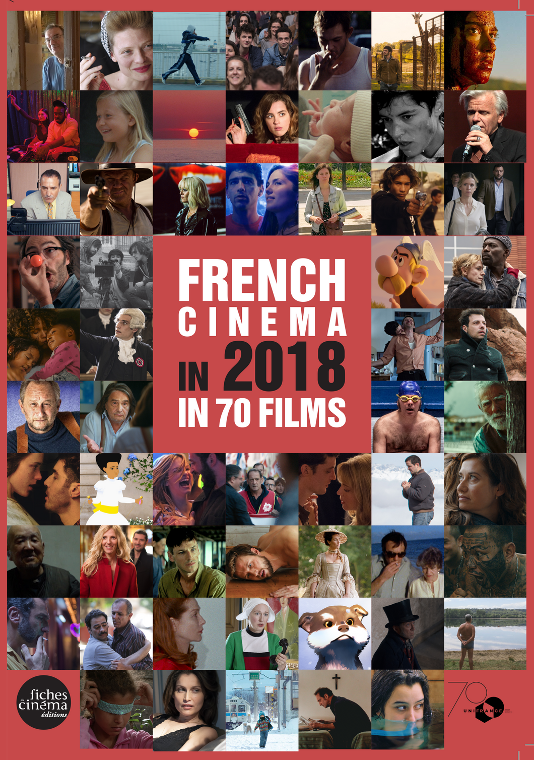 Book French Cinema in 2018 in 70 films frontcover