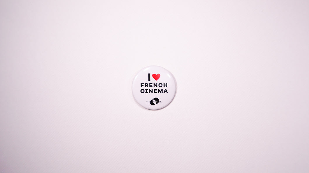 Badge I ❤ French Cinema