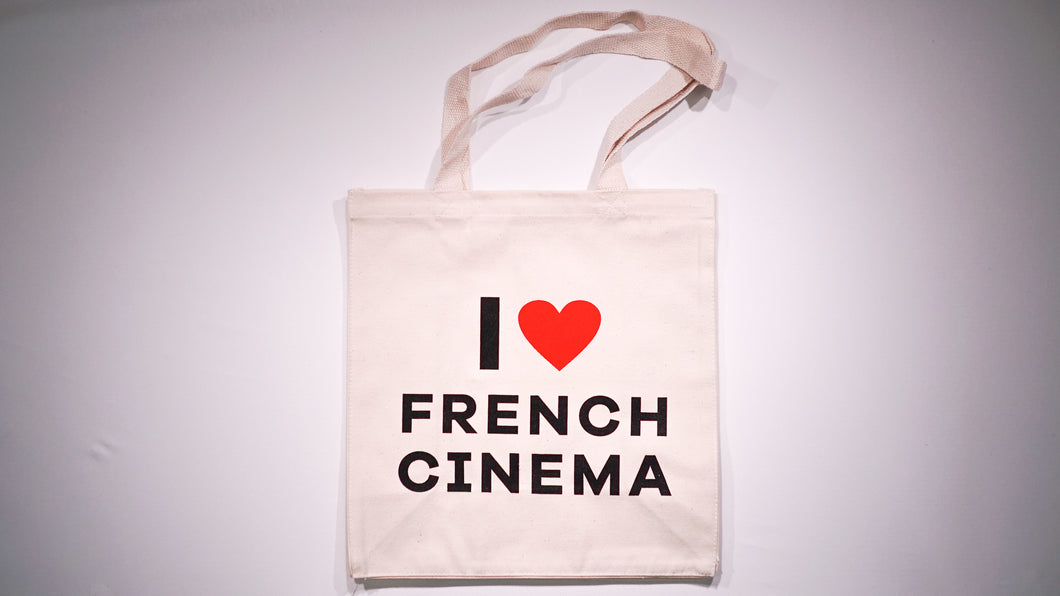 Tote Bag I Love French Cinema