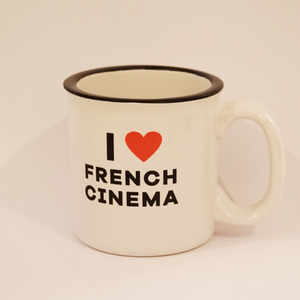 Mug I Love French Cinema front