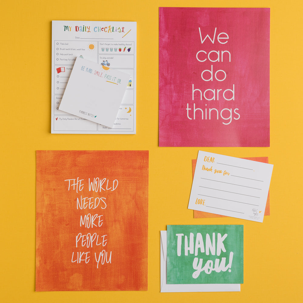 The World Needs More People Like You Flat Greeting Card