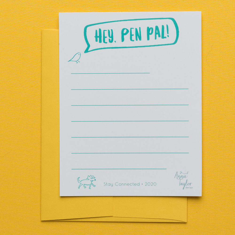Hey Pen Pal! Notecard Set