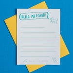 Hello my friend! Notecard Set