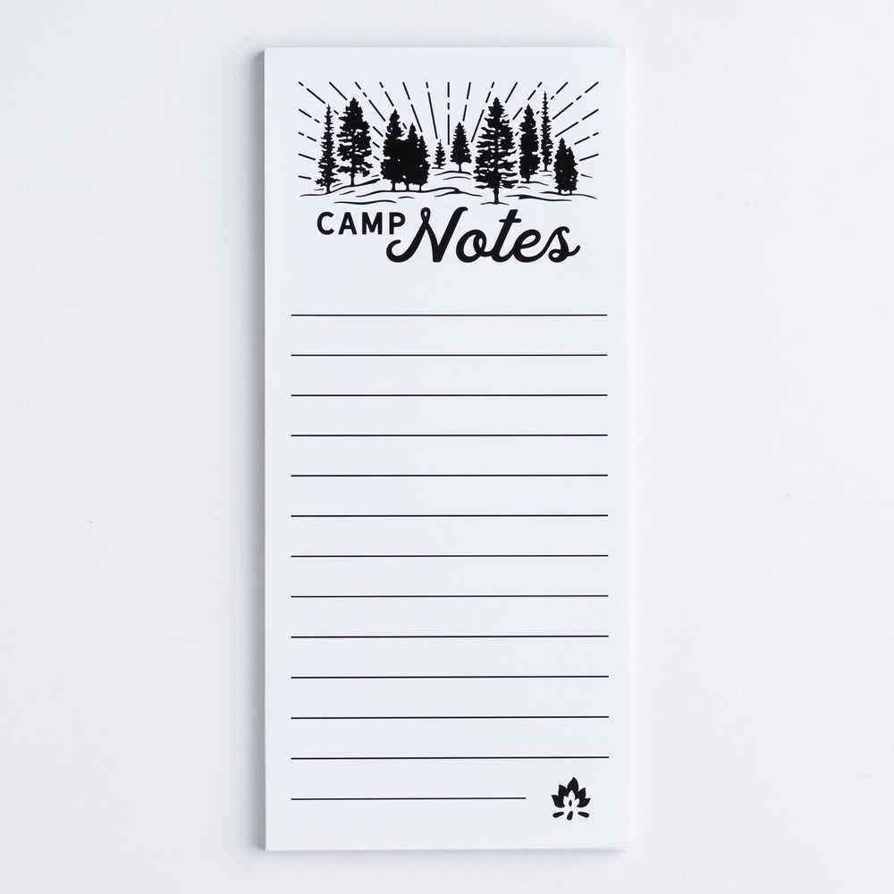 Camp Notes magnetic notepad