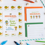 Super Hero Personalized Invitations