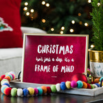 Christmas Frame of Mind, Print Duo