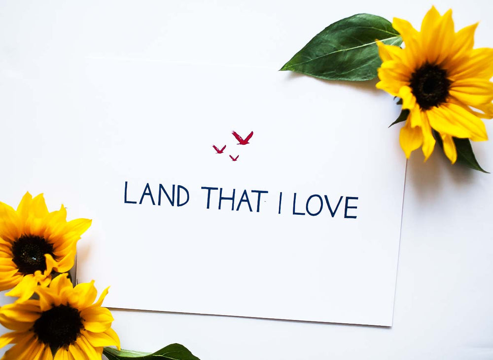 Annie Taylor Designs - Land That I Love print