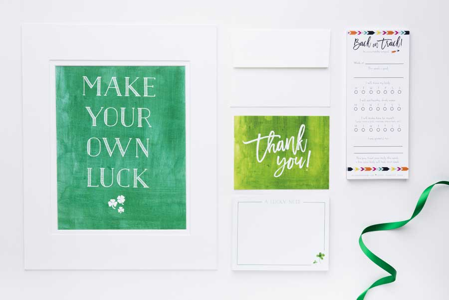 Make Your Own Luck Print