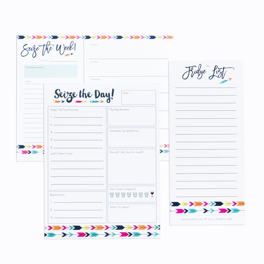 Modern Arrows notepad bundle