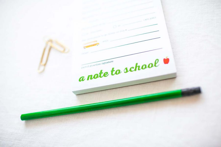 School is Cool! notepad trio