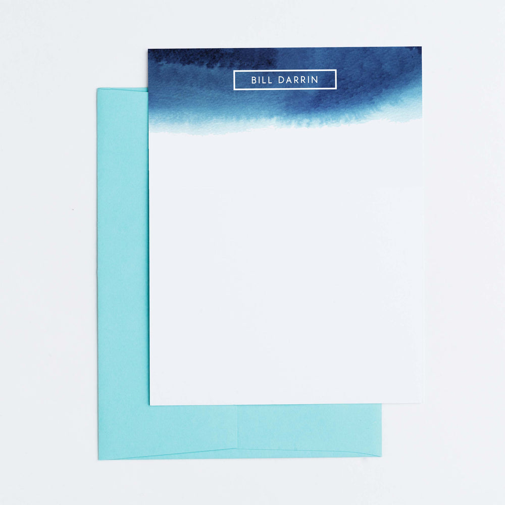 Ocean Wave Personalized Notecards